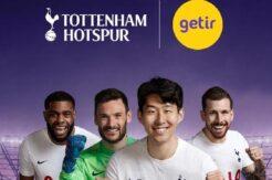 Tottenham'ın resmi sponsoru 'Getir'