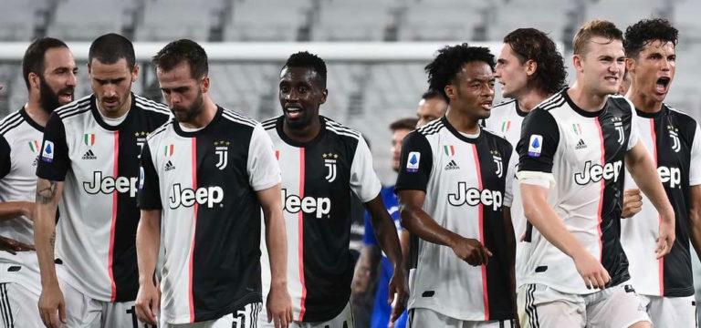 Serie A'da şampiyon Juventus