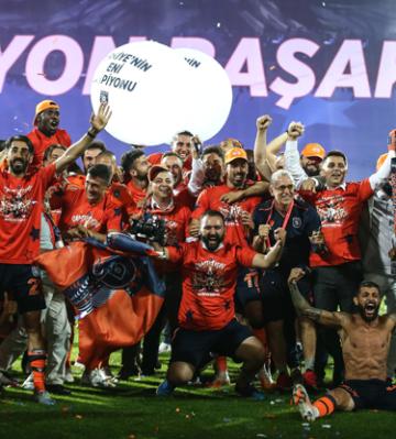 6. şampiyon Medipol Başakşehir
