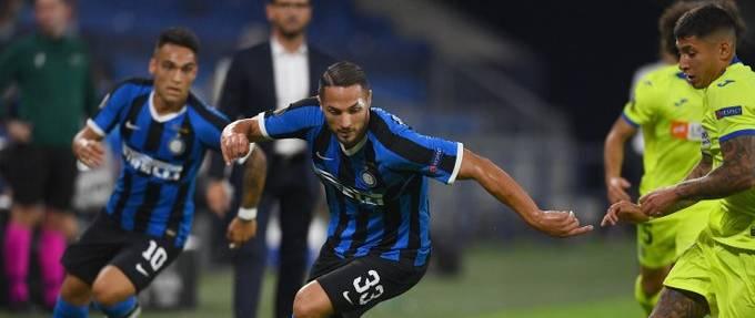 Inter çeyrek finalde
