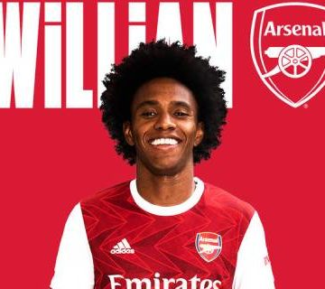 Willian resmen Arsenal'de