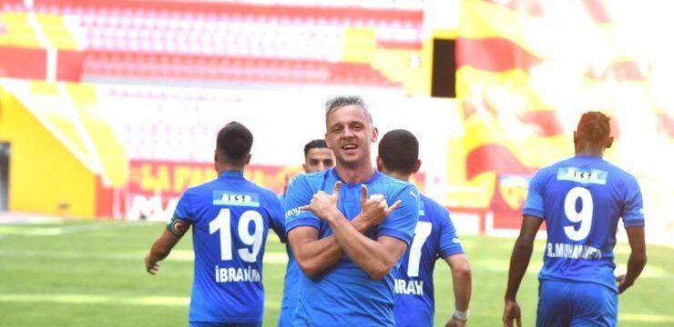 Kayserispor – Erzurumspor maçının özeti