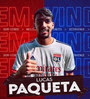 Lucas Paqueta Lyon'da