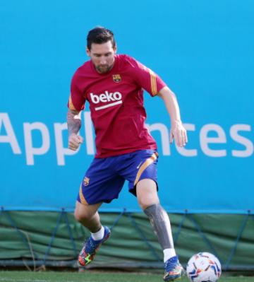 Messi Barcelona idmanında