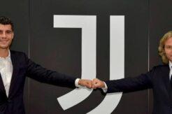 Alvaro Morata Juventus'a döndü
