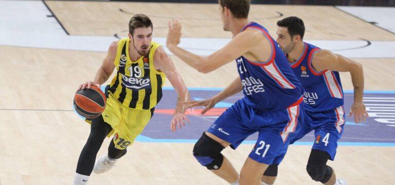 Türk derbisinde kazanan Fenerbahçe Beko (ÖZET)