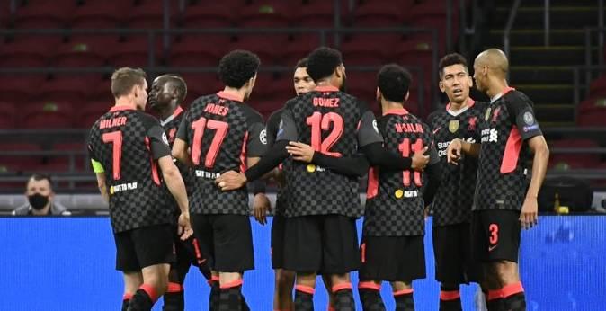 Liverpool Hollanda'dan mutlu dönüyor