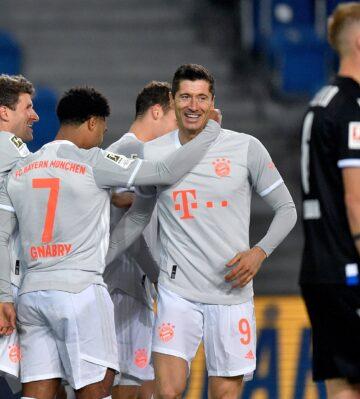 Bayern yıldızlarıyla farklı