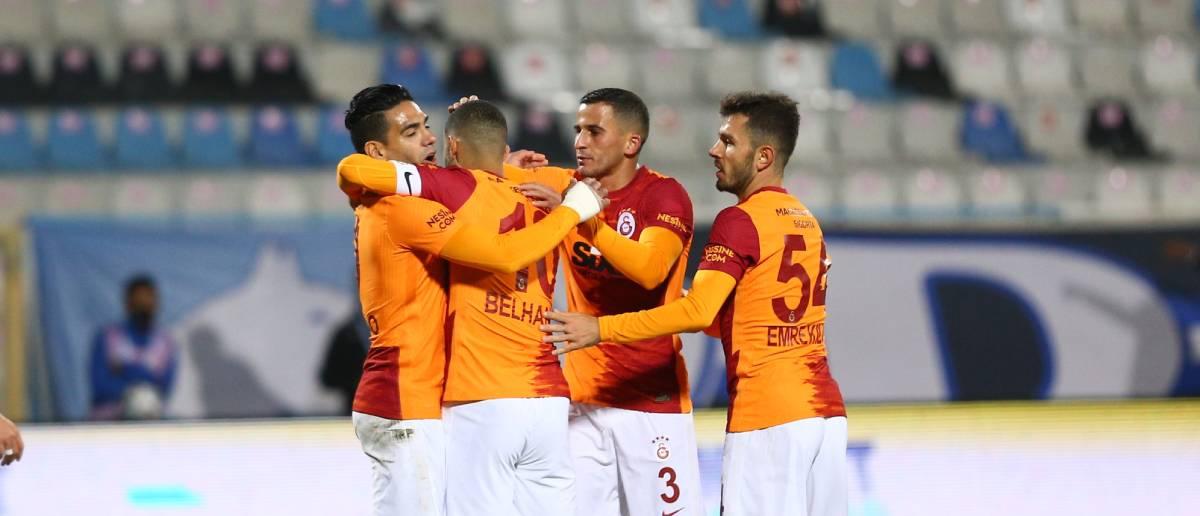 Galatasaray Erzurum'da hayata döndü (ÖZET)