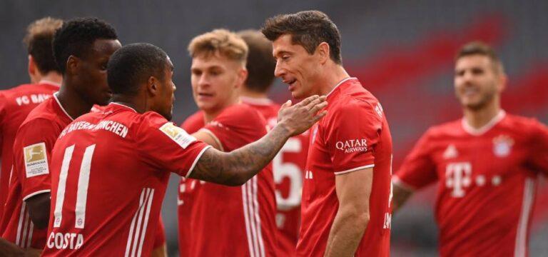 Lewandowski ve Bayern şova ara vermiyor!