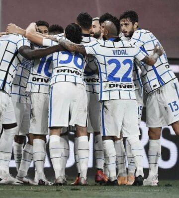 Inter 2. yarıda güldü