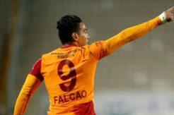 Falcao Avrupa'da bir ilki yaşadı