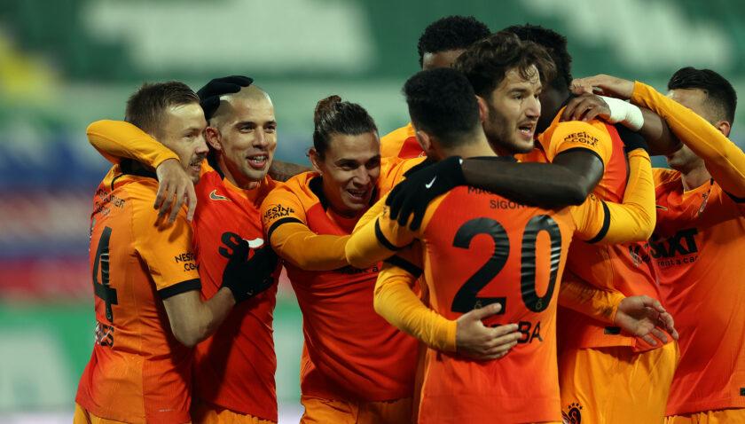 Galatasaray Rize kabusunu farklı bitirdi (ÖZET)