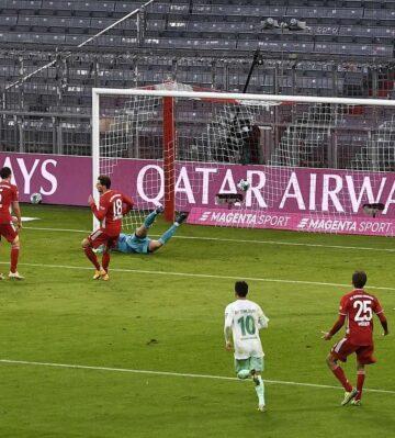 Bayern duvarı yıkamadı
