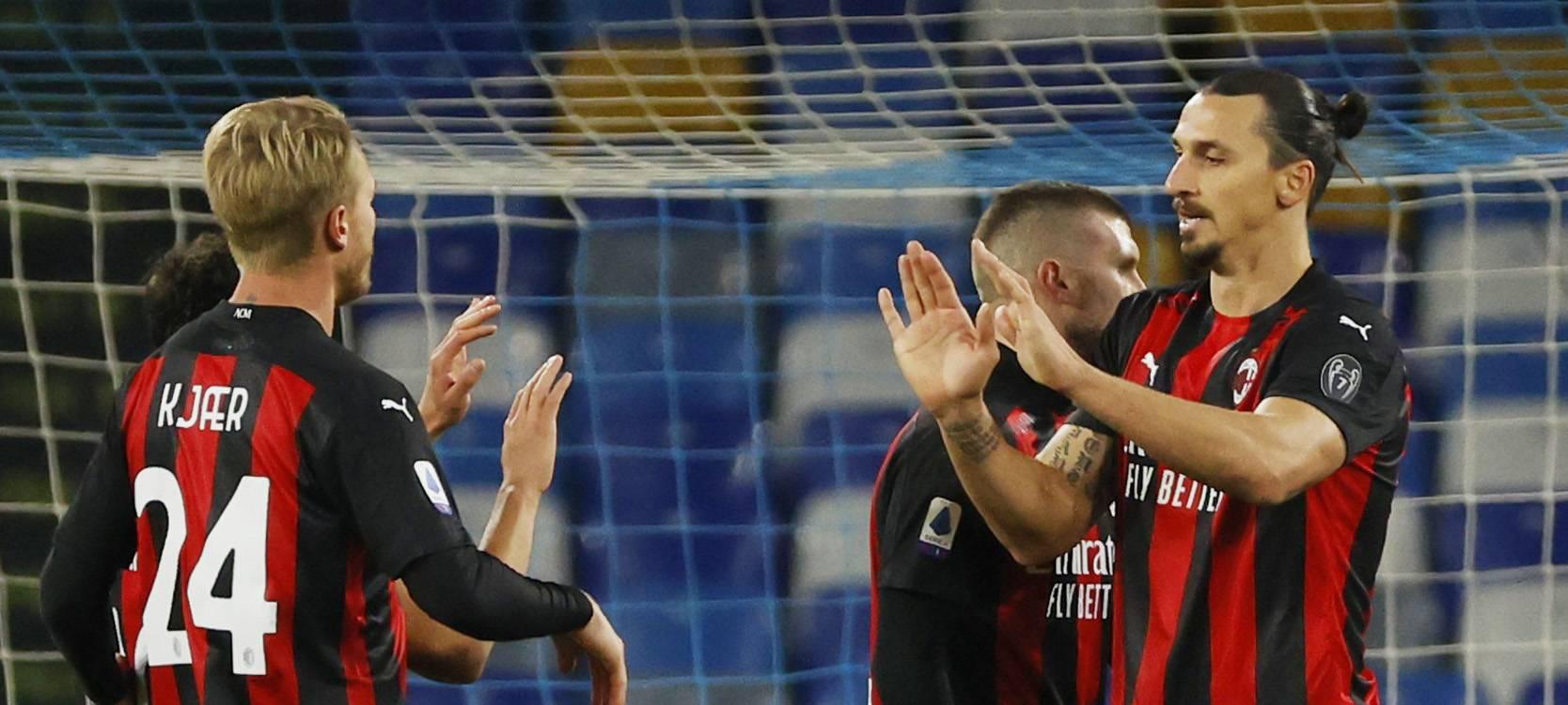 Zlatan Milan'ı zirveye taşıdı