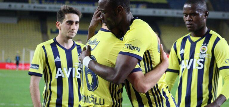 Fenerbahçe kupada ter attı