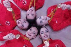 Ritmik Jimnastik Grup Milli Takımı Avrupa Şampiyonu