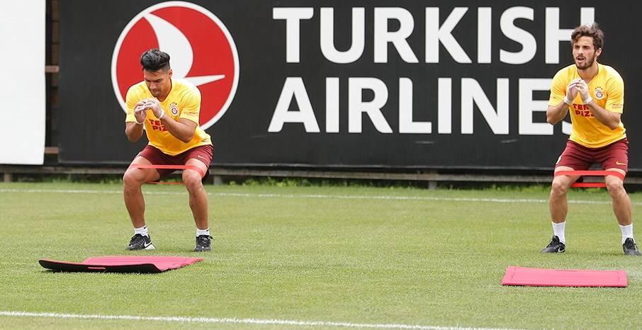 Galatasaray'da Falcao sevinci