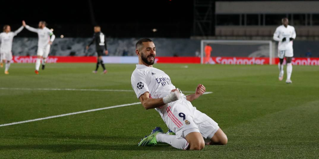 Benzema Real Madrid'i uçurdu