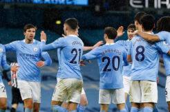 Manchester City şov yaptı