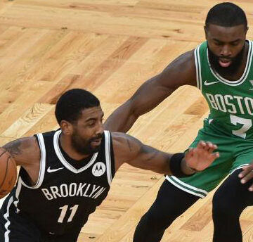 Durant-Irving ikilisi Celtics'i dağıttı