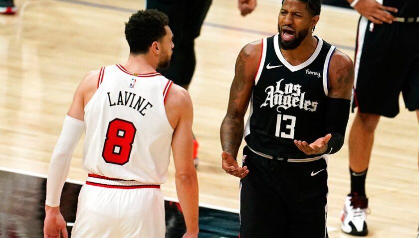 LaVine'in 45 sayısı Bulls'a yetmedi