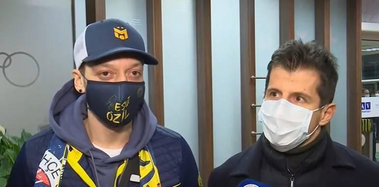 Fenerbahçe Mesut Özil'e kavuştu
