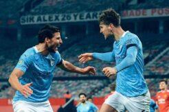 Manchester City derbiyi kazandı, finale yükseldi