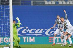 Ronaldo rekor kırdı, Juve kupayı kaptı