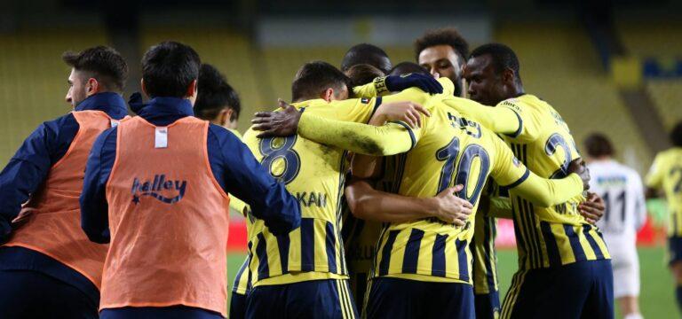Son çeyrek final bileti Fenerbahçe'nin
