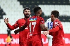 Beşiktaş'ın çeyrek final bileti Larin'den