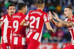 Atletico Madrid'i Suarez kurtardı