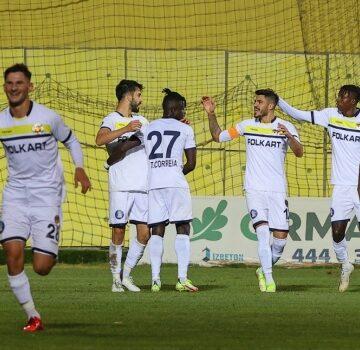5 gollü maç Menemen'in