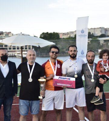 İBB Ayak Tenisi Turnuvası'nda şampiyon Cumhuriyet