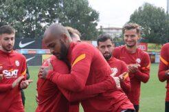 Galatasaray'da Kerem-Marcao barıştı