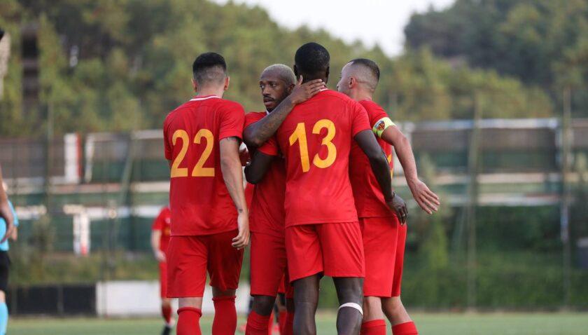 Beşiktaş'tan tatsız prova