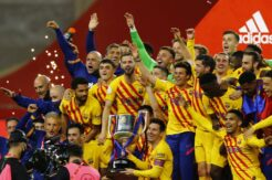 Kral Kupası'nda zafer Barcelona'nın