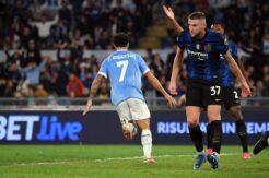 Inter unvanı Roma'da kaybetti