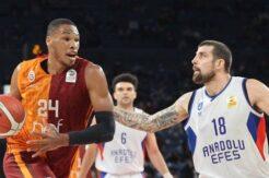Dev maçta Galatasaray Nef'ten müthiş geri dönüş