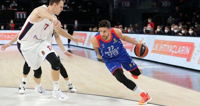 Anadolu Efes CSKA'ya kaybetti