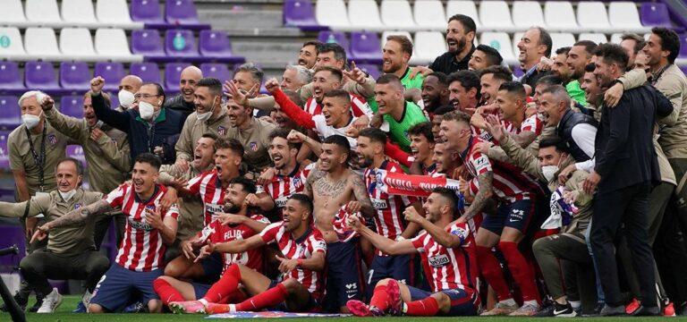 LaLiga'da şampiyon Atletico Madrid