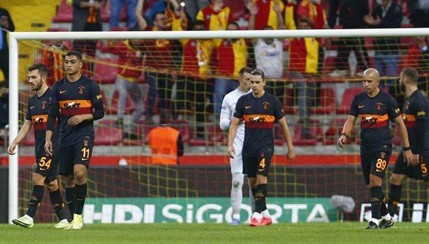 Galatasaray Kayseri'de dağıldı (ÖZET)