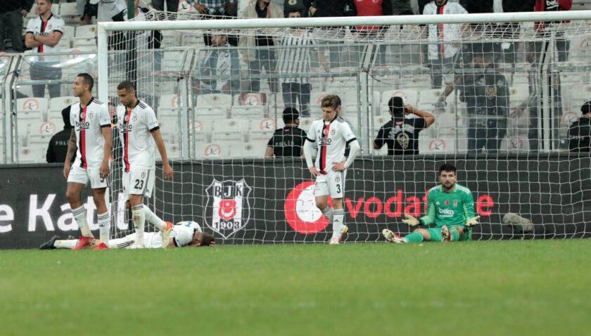 Beşiktaş'ta eksik sayısı 9 oldu