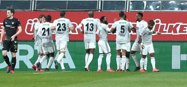 Beşiktaş'a 15 dakika yetti (ÖZET)