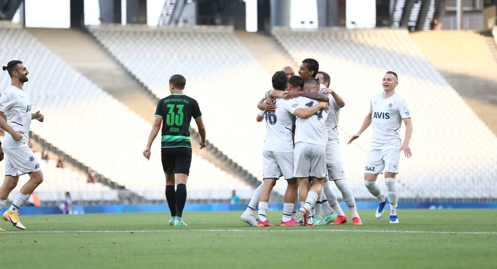Gol düellosunda kazanan Fenerbahçe