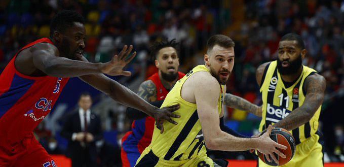 Fenerbahçe Beko üzgün dönüyor