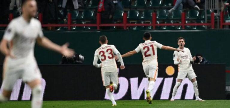 Moskova'da Galatasaray kükredi