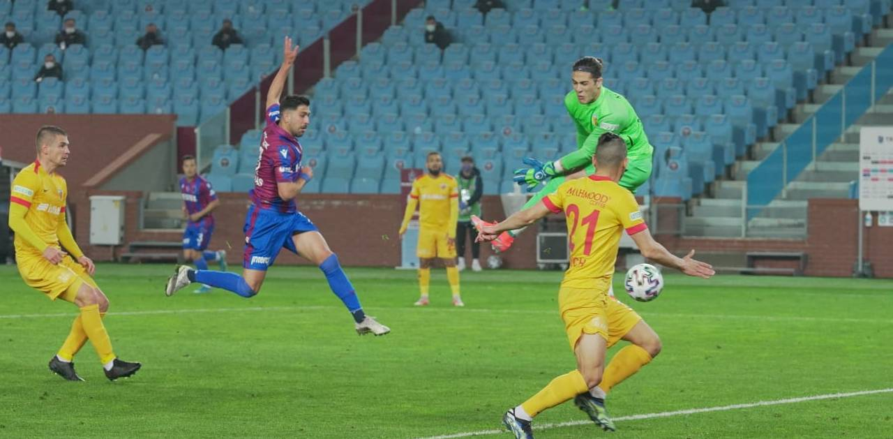 Trabzonspor duvarı yıkamadı